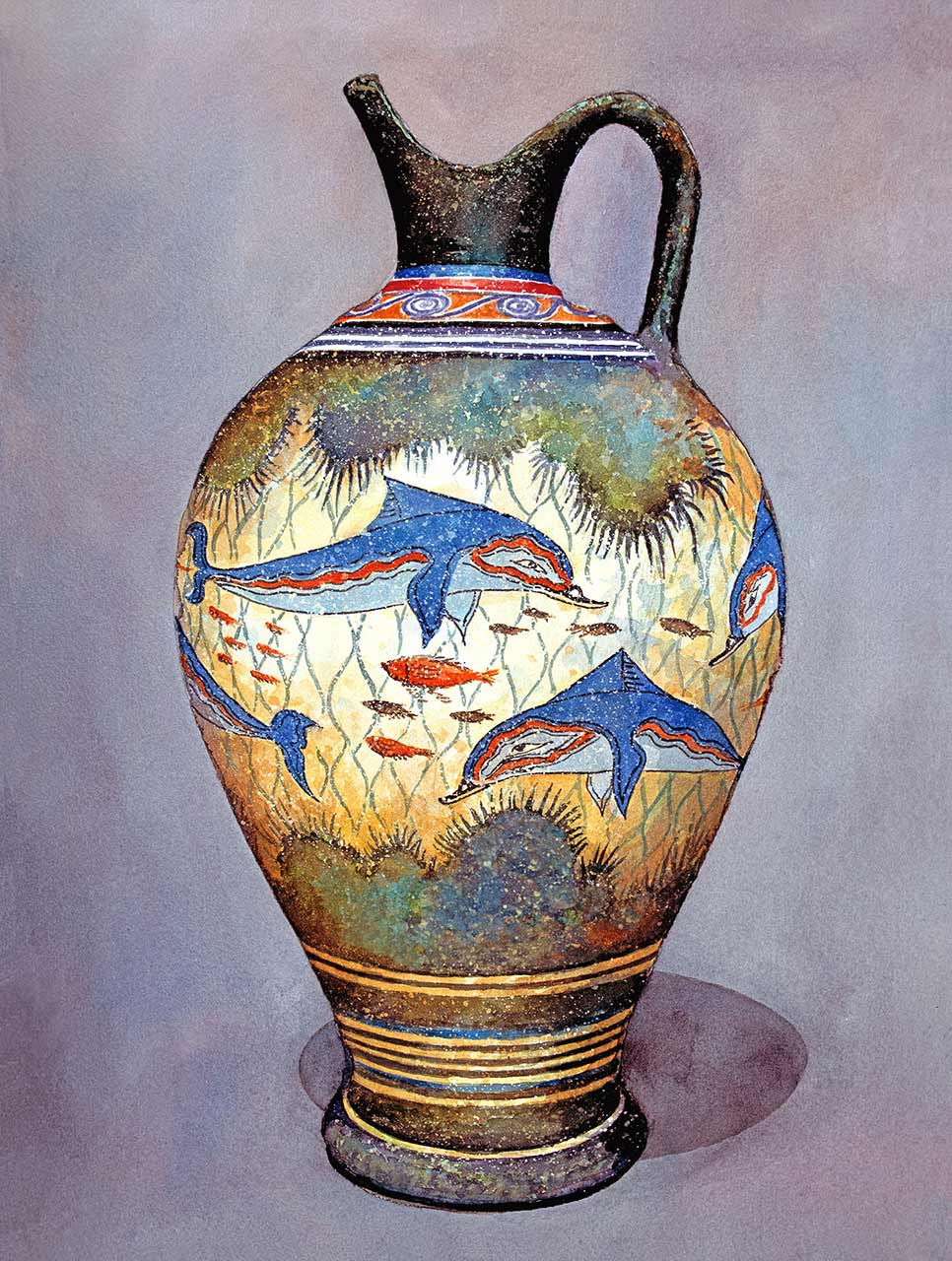 Cer mica jarrones and arte griego on pinterest - Jarrones de ceramica ...